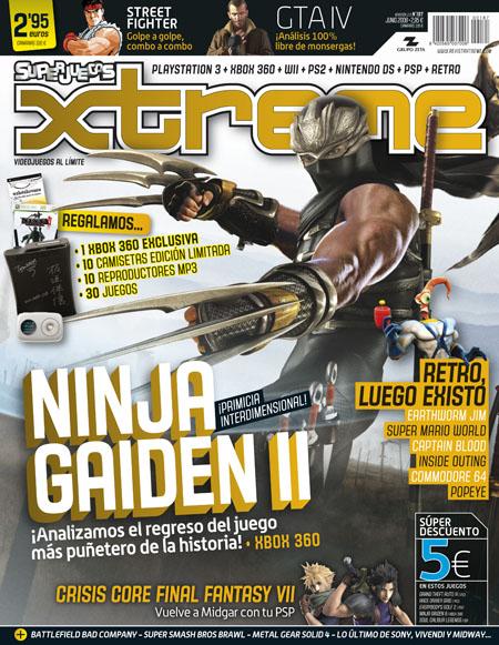 Super Juegos Xtreme 187 portada cover